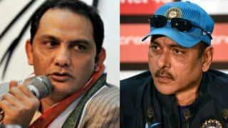 Mohammad Azharuddin criticises Ravi Shastri; says 'difficult to compare eras'