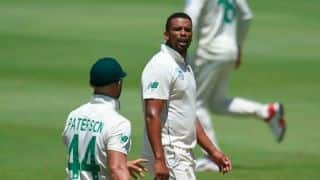 Vernon Philander Fined 15 Per Cent of Match Fee For Jos Buttler Send-Off