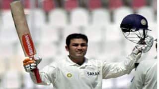 वीडियो: आज ही के दिन छक्का लगाकर वीरेंद्र सहवाग ने जड़ा था भारतीय क्रिकेट के इतिहास का पहला तिहरा शतक