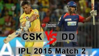 Chennai Super Kings (CSK) vs Delhi Daredevils (DD), IPL 2015 Match 2 Preview: DD look for new combination against formidable CSK