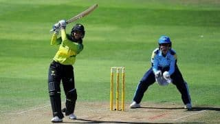 Smriti Mandhana dazzles on Women's Cricket Super League debut