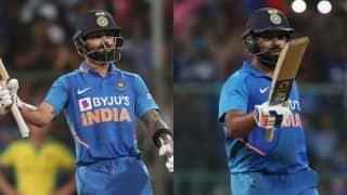 वनडे के महानतम बल्लेबाज हैं रोहित-कोहली: एरोन फिंच