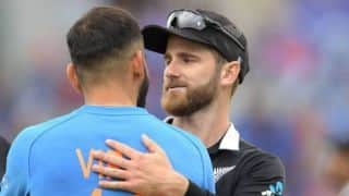 Cricket World Cu 2019 – I hope Indian fans are not angry with us: Kane Williamson