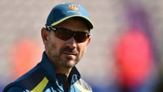 We're here to win the Test match, not to see how many bruises we can give: Justin Langer