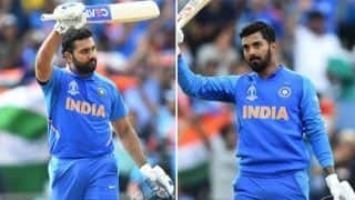 Five-star Rohit, centurion Rahul lead India's demolition of Sri Lanka