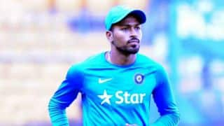 Hardik Pandya: I will use this break to improve fitness before South Africa tour