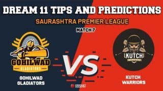 Dream11 Prediction: GG vs KW Team Best Players to Pick for Today's Match between Gohilwad Gladiators and Kutch Warriors at 3:30 PM