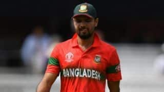 Cricket World Cup 2019: We really need to improve our fielding: Mashrafe Mortaza