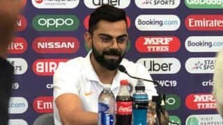 ICC CRICKET World Cup 2019: Hope we will repeat history says Virat Kohli
