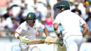 SA lead by 121 despite Elgar's departure before lunch, Day 3