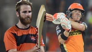 IPL 10: Kane williamson beats David Warner in Darts