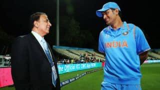 सुनील गावस्कर ने कहा अगर क्रिकेट छोड़ते धोनी तो उनके घर के आगे धरना देता