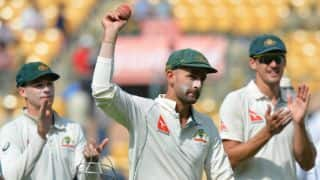 India vs Australia, 2nd Test, Day 1: Nathan Lyon's 8-for keeps visitors ahead in the race