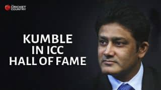 Anil Kumble, Betty Wilson to be inducted into ICC Hall of Fame