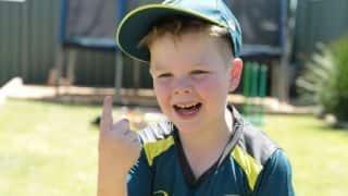 बॉक्सिंग डे टेस्ट में ऑस्ट्रेलिया टीम का नेतृत्व करेंगे 7 साल के आर्ची शिलर