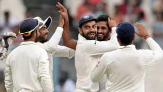 भारत बनाम न्यूजीलैंड, दूसरा टेस्ट, तीसरा दिन: भारत 227/8, कुल बढ़त 339 रन