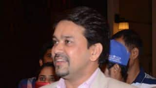 SLC congratulates Anurag Thakur