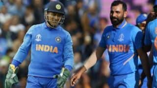 ICC CRICKET World Cup 2019: MS Dhoni suggested a yorker before hat-trick ball, says Mohammed Shami