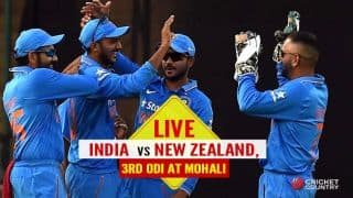 LIVE: India unchanged, NZ go with one change