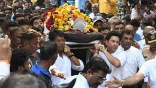 Confusion after Ramakant Achrekar cremated without full state honours