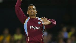 Sunil Narine records third most  economical complete spell in T20 cricket