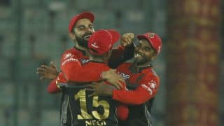 PHOTOS: Delhi Daredevils vs Royal Challengers Bangalore, IPL 2017, Match 56 at Delhi