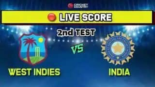 India vs West Indies, 2nd Test, Day 2 live cricket score and ball by ball commentary: Bumrah five-for leaves West Indies reeling