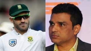 South African skipper Faf du Plessis too tampered with the ball twice in his career, says Sanjay Manjrekar