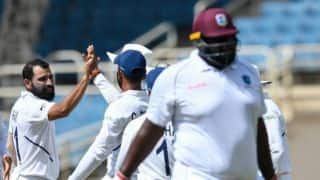 IND vs WI: West Indies bowled out on 117, India gets 299 run lead
