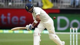 Virat Kohli, Cheteshwar Pujara take India to 70/2 at tea