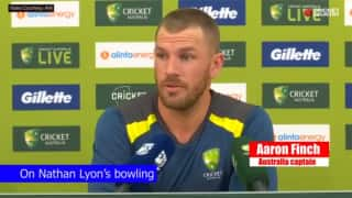 VIDEO: Nathan Lyon will get rewarded eventually: Aaron Finch