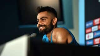 After a well-deserved day off, Virat Kohli reaches Dharamsala for new challenges