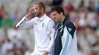 Stuart Broad's helmet manufacturing company to investigate cause of accident