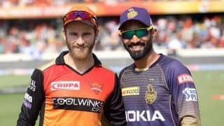 IPL 2019, SRH vs KKR: Unchanged Sunrisers Hyderabad elect to bowl, Kolkata Knight Riders drop Kuldeep, Uthappa, Prasidh