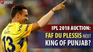 IPL 2018 Auction: KXIP hope to reclaim lost kingdom under Faf du Plessis