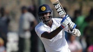 Angelo Mathews' ton boosts Sri Lanka, but India claw back at tea on Day 3 of 2nd Test
