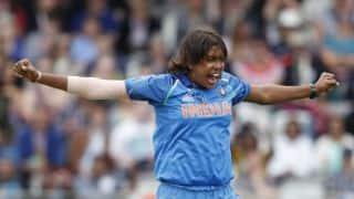 Jhulan Goswami first to take 200 women ODI wickets