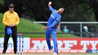 Mujeeb Zadran becomes youngest to scalp Indian T20 league wicket