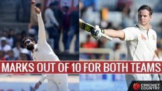 India vs Australia, 3rd Test, Ranchi: Marks out of 10 for Virat Kohli and Steven Smith-led sides