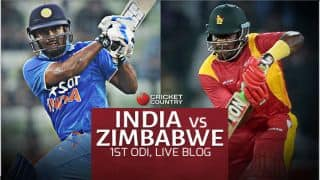 IND 173/1 in 42.3 Ovs, Live Cricket Score, IND vs ZIM 2016, 1st ODI at Harare: IND win by 9 wkts