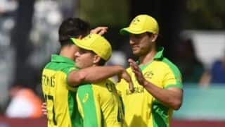 Cricket World Cup 2019: Changes aplenty as Australia opt to bat in Nottingham