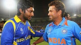 Kumar Sangakkara: Always strived to play that Sachin Tendulkar-like straight drive