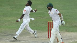 PAK struggle at 62 for 5 in pursuit of 317 vs SL in 2nd Test