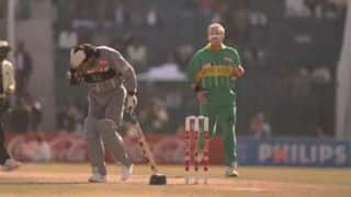 World Cup Countdown: 1996 – Kirsten becomes first South African to hit a WC hundred before Donald hits Zarawani on the head