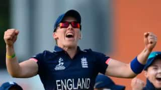 England Women v West Indies Women T20 Series:  England win five-over match by three wickets to clinch series 5-0