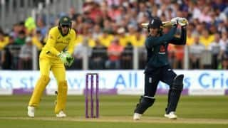 Jason Roy help England beat Australia in 4th ODI; Hosts lead series with 4-0