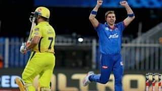 MS Dhoni Didn't Look Like He Could Bat: Anrich Nortje's First Impression On CSK Skipper
