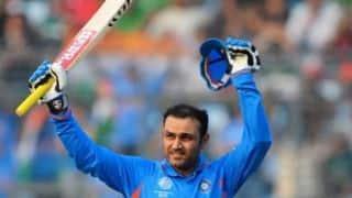 Road Safety World Series 2021: वीरेंद्र सहवाग ने 20 गेंदों में ठोका अर्धशतक, भारत की 10 विकेट से जीत