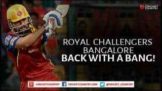 Inspired Royal Challengers Bangalore maul Rajasthan Royals by 9 wickets in IPL 2015 Match No. 22