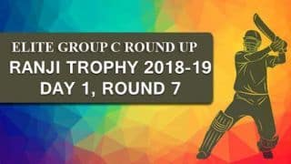 Ranji Trophy 2018-19, Elite Group C: Services 48/2 in reply to Jharkhand's 193